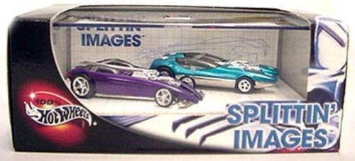#57252 Hot Wheels Splittin' Images 1/64 Scale Diecast 2 Car Set