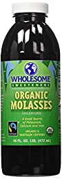 Wholesome Sweeteners Organic Molasses -- 16 fl oz