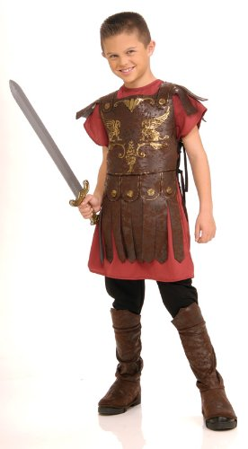 Child Gladiator Costume Roman Soldier Costume 882800