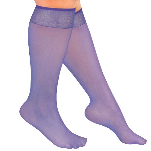 Colored Sheer Knee High Stockings (set of 20)
