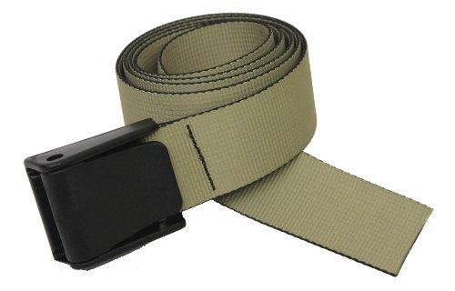 Thomas Bates Titan Web Belt (Khaki)