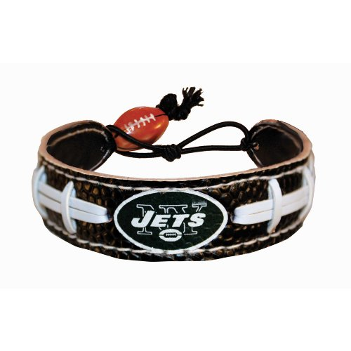 New York Jets Team Color NFL Football Bracelet at Amazon.com