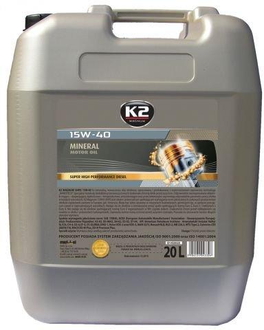 Motoröl Öl LKW mineralisch 20l 15W-40 SHPD