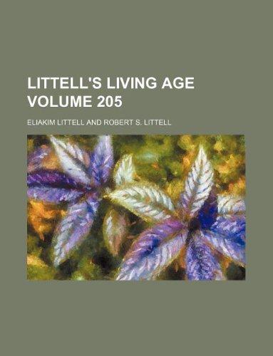 Littell's living age Volume 205