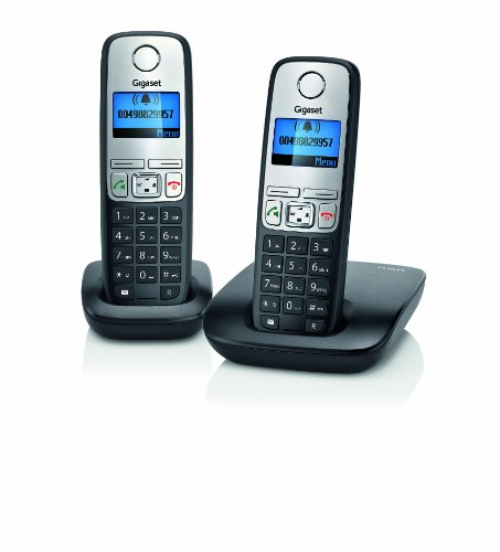 Gigaset A400 DECT Cordless Phone Set - Twin image