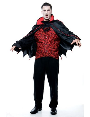 Count Mens Xl Halloween Costume - Adult 50-52