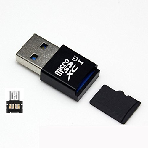 Sannysis® 5 Gbps super velocità USB 3.0 OTG + SD / SDXC TF adattatore mini lettore di schede