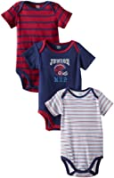 Gerber Baby-Boys Newborn 3 Pack Short Sleeve Onesies Brand Bodysuits