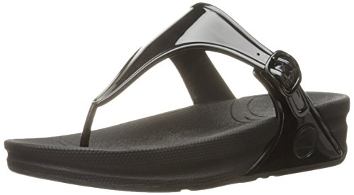 FitflopSuperjelly - Sandali  donna , Nero (Black (All Black)), 39.5