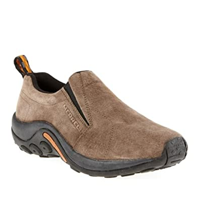 Merrell Mens Era Moc Grey Leather Outdoor 10
