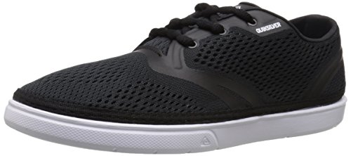 Quiksilver Men's Oceanside Shoe, Black/Black/White, 8 M US (Wakeskate Shoes compare prices)