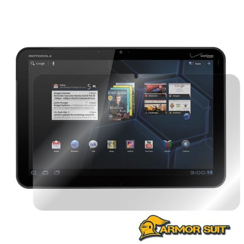 ArmorSuit MilitaryShield - Motorola XOOM Screen Protector Shield + Lifetime Replacements from Electronic-Readers.com