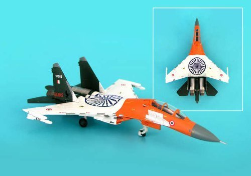 hogan-miliary-1-200-hg6054-sukhoi-su-27mki-flanker-diecast-model-indian-air-force-24th-sqn-hunting-h