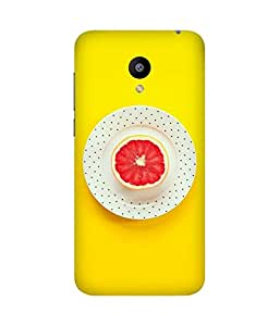 Fruit Printed Back Cover Case For Meizu M2