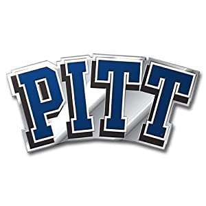 Buy NCAA Pittsburgh Panthers Die Cut Color Automobile Emblem by Team ProMark