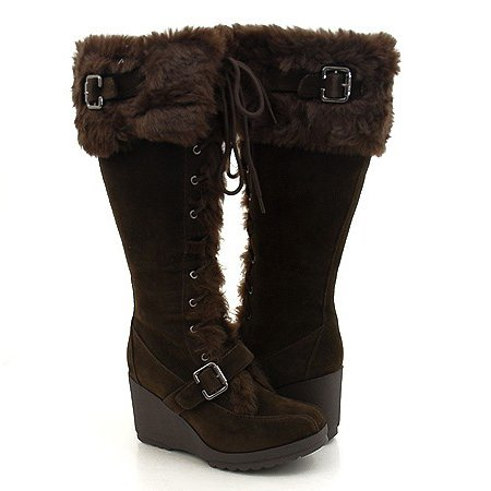 Wonderful  Elegant Furry Winter Boots For Women Under 100 Dollars Snow Boots