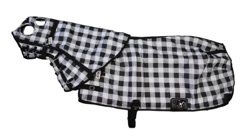 420D Medium Weight Horse Blanket And Hood Combo Plaid front-941994