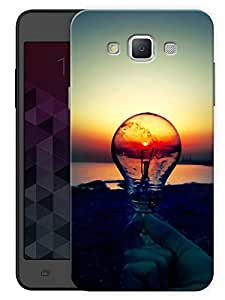 "Humor Gang Light Bulb Scenery Printed Designer Mobile Back Cover For ""Samsung Galaxy A7"" (3D, Matte, Premium Quality Snap On Case)"