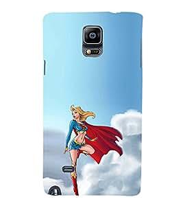 EPICCASE Superwomen Mobile Back Case Cover For Samsung Galaxy Note 4 (Designer Case)