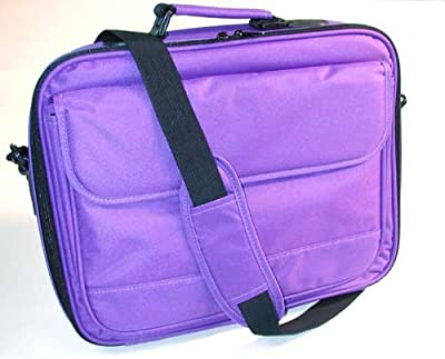 "Purple Laptop Case Notebook Bag for 14"" 15"" & 17"" Laptops"