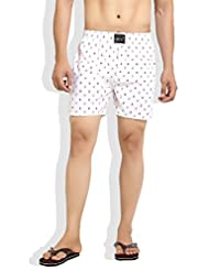 London Bee Men's Cotton Japan Print Boxer