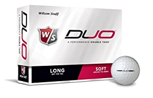 Wilson Staff DUO - 3 dozen (36 Golf Balls) by Wilson