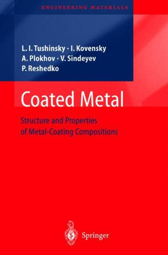 Coated Metal: Structure And Properties Of Metal-Coating Compositions (Engineering Materials)