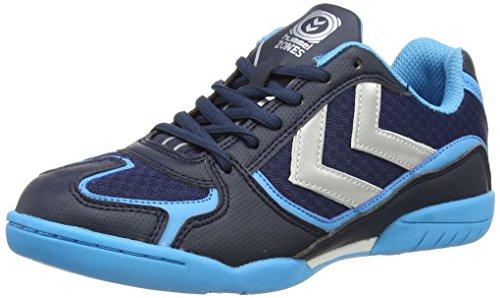 Hummel Root, Scarpe Sportive Indoor Unisex Adulto, Blu (Blu (vestito blu 7459)), 46 EU