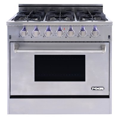 NXR-Elite-Stainless-Steel-36-Gas-Range-with-Convection-Oven