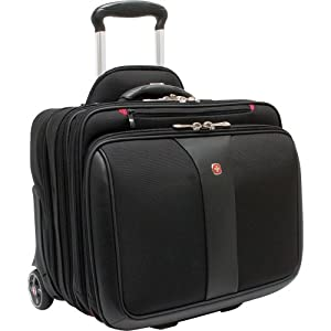 Wenger Patriot Rolling Case - Black