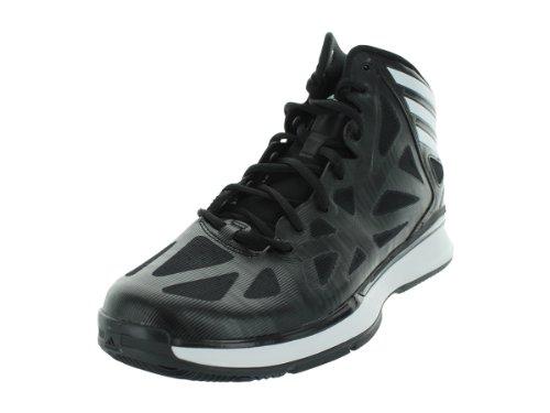 quality design e1698 59cb7 Adidas Men s Crazy Shadow 2 Black1 Runwht Black1 Basketball Shoes 9 5 Men US