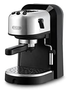 DeLonghi EC270 15-Bar-Pump Espresso Machine, Black and Stainless