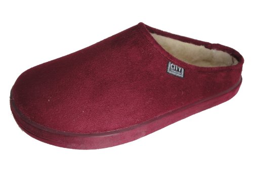 Cheap Andres Machado Women's Burgundy Scandinavians Slippers (B0049CGD6A)