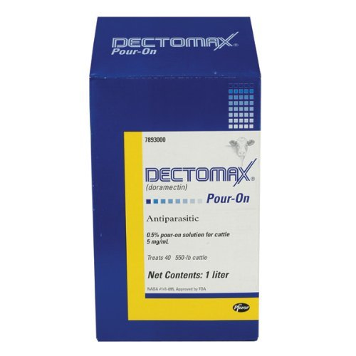 Pfizer DECTOMAX CTL Pour-ON 1LT ORMD (Tamaño: One Size)