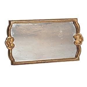 Abigails Rectangle Mirror Decorative Tray