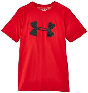 Under Armour Big Boys' UA Big Logo T-Shirt YXS Red