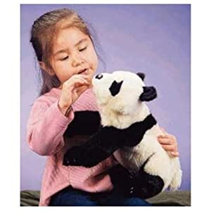 Folkmanis Small Panda 15in Hand Puppet by Folkmanis