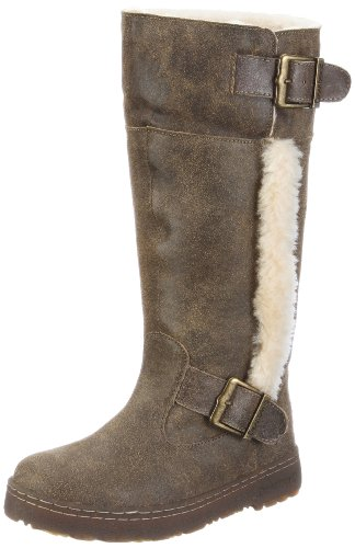 Bearpaw Women's Woodbury Vintage Maple Fur Trimmed Boots 1371W 5 UK