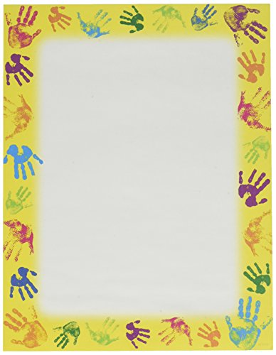 "Trend Enterprises Helping Hands Terrific Paper, 50 Sheets per Package, 8 1/2"" x 11"""