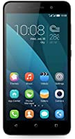 Honor 4X Smartphone, 4G LTE, Dual MICRO-SIM , Display 5,5 Pollici HD, Fotocamera 13 MP, Memoria 8 GB, Android 4.4, Nero