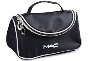 Amazon.com: Mac Cosmetics Black Makeup Case Makeup Bag: Beauty