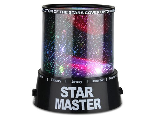 Xhan Fantastic Star Night Light Projector - Cast A Cosmic Projection & Coloured Light Sequences Around Your Room front-181150