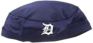 MLB Detroit Tigers Home Authentic Collection Performance Skull Cap, Navy, One Size Fits Most