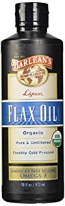 Barleans High Lignans Flax Oil Liquid (473ml)