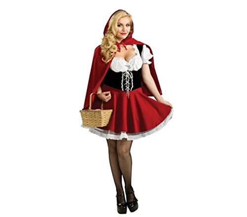 Hallo (Little Red Riding Hood And The Big Bad Wolf Couples Costume)