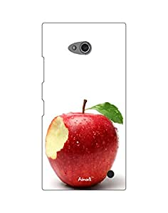 AANADI - Hard Back Case Cover for Nokia Lumia 730 - Superior Matte Finish - HD Printed Cases and Covers