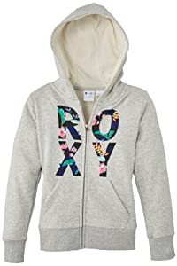 Roxy Coahoma C Screenline Sweat-shirt Fille Heritage Heather FR : 8 ans (Taille Fabricant : 8/S)