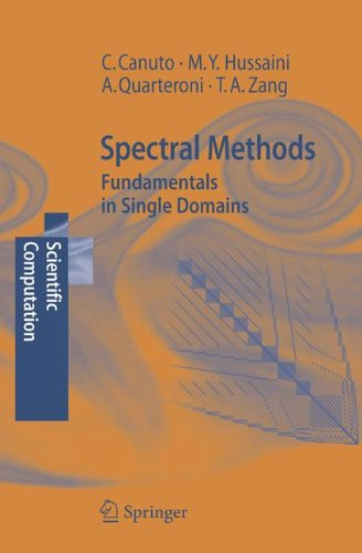 Spectral Methods: Fundamentals in Single Domains...