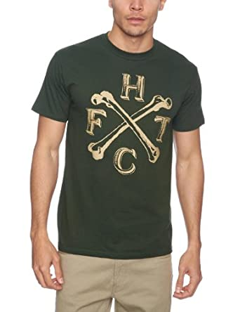Plastic Head Frank Turner England Keep My Bones Men's T-Shirt Green Small