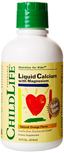 Child Life Liquid Calcium/Magnesium,Natural Orange